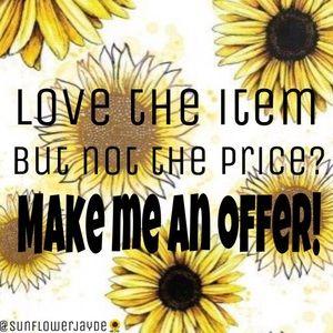 🌻 Make Me A Reasonable Offer 🌻